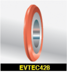 "EvTec Sheeter Pull Wheel (2-1/2"" OD)"