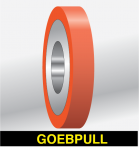 "GOEBEL  4x4 POLY PULL WHEEL (2.75"" OD)"