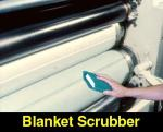 4X6 Blanket Scrubber with Sponge