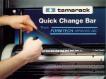 Tamarack Quick Change Bar