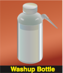 Solvent Squirt Bottle (Washup Bottle)